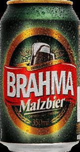 Brahma Malzebier Lata