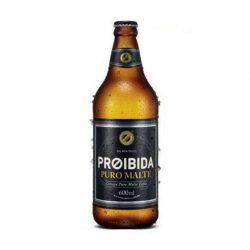 Cerveja Proibida Puro Malte 600ml