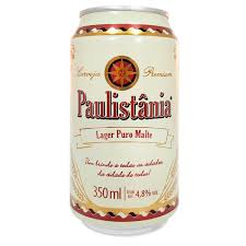 Paulistânia Lata 350 ml